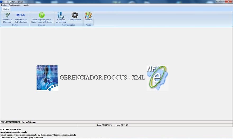 Gerenciador Foccus XML